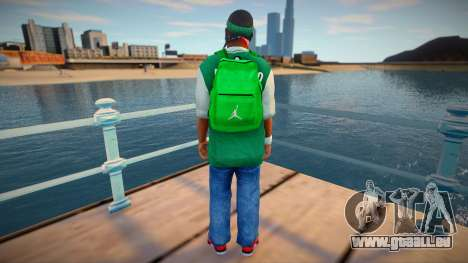 New fam3 backpack pour GTA San Andreas