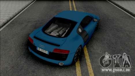 Audi R8 [HQ] pour GTA San Andreas