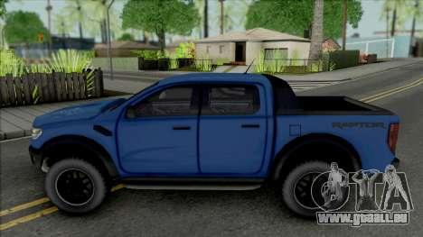 Ford Ranger Raptor 2020 für GTA San Andreas