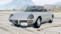 Alfa Romeo Spider 1600 Duetto (105) 1966 v3.0 pour GTA 5