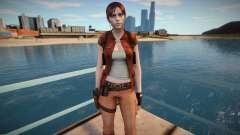 Claire Redfield in a costume Helena Harper pour GTA San Andreas