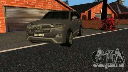 Toyota Land Cruiser 200 18 v0.1 für GTA San Andreas
