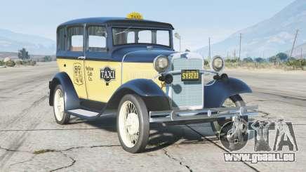 Ford A Town Sedan 1931〡Taxi〡add-on v0.3 für GTA 5