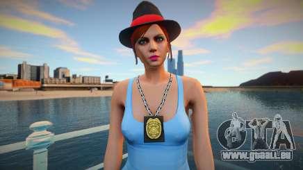 Flic de fille dans le modèle de GTA 5 pour GTA San Andreas