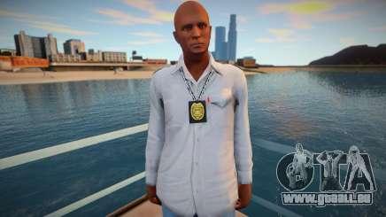 Policier en civil pour GTA San Andreas