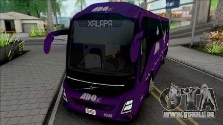 Volvo 9800 de ADO GL (Morado) pour GTA San Andreas