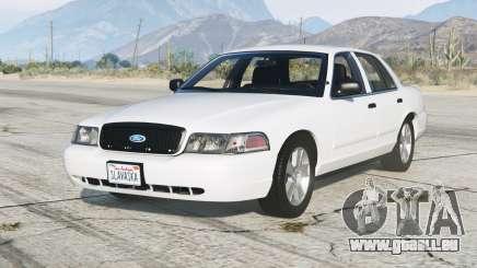 Ford Crown Victoria 2011〡add-on für GTA 5