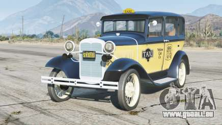 Ford Model A Town Sedan 1931〡Taxi〡add-on pour GTA 5