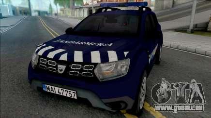 Dacia Duster Jandarmeria für GTA San Andreas