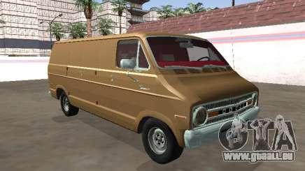 Dodge Tradesman 200 1972 Châssis Van Long pour GTA San Andreas
