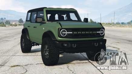 Ford Bronco 4-door Wildtrack 2021 pour GTA 5