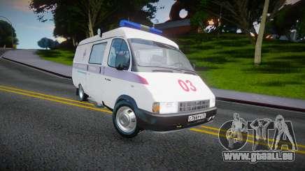Gaz-32214 (Gazel) - Krankenwagen für GTA San Andreas