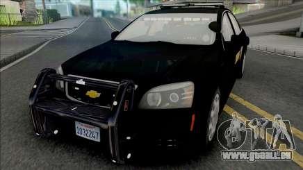 Chevrolet Caprice 2013 Sheriff Police pour GTA San Andreas