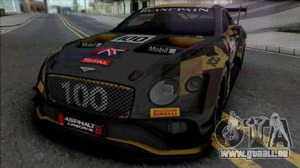 Bentley Continental GT3 für GTA San Andreas