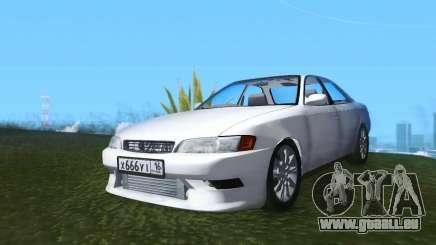 Toyota Mark II JZX90 RUS Plates pour GTA San Andreas