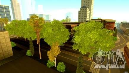 Belle végétation pour GTA San Andreas