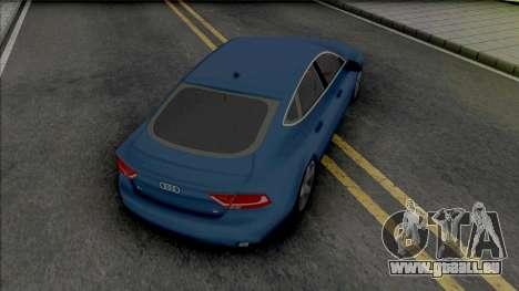 Audi A7 2010 pour GTA San Andreas