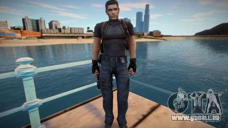 Chris Redfield Leon Re1 pour GTA San Andreas