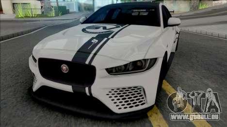 Jaguar XE SV Project 8 [Fixed] pour GTA San Andreas