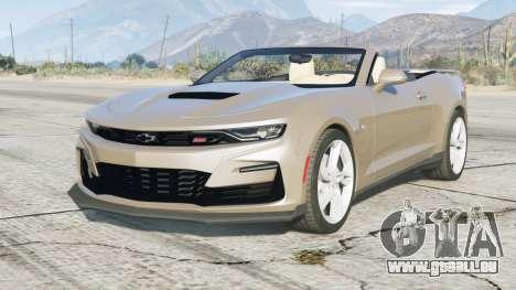 Chevrolet Camaro SS Cabriolet 2020 〡add-on