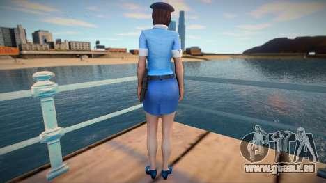 Jill Police pour GTA San Andreas