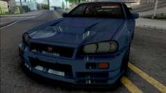 Nissan Skyline GT-R 2002 pour GTA San Andreas
