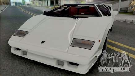 Lamborghini Countach LP5000QV & 25th Anniversary für GTA San Andreas