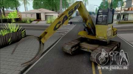 Hydraulic Excavator für GTA San Andreas