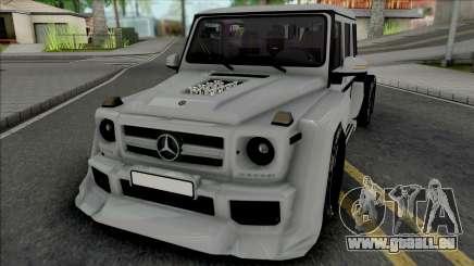 Mercedes-Benz G63 AMG 6x6 [IVF VehFuncs ADB] für GTA San Andreas