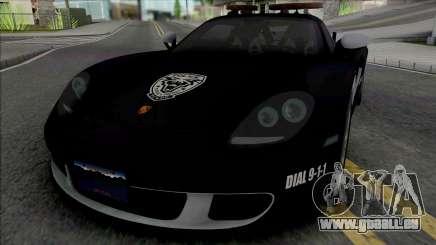 Porsche Carrera GT 2004 Police pour GTA San Andreas