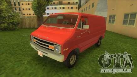 Dodge Tradesman Van 1976 für GTA Vice City