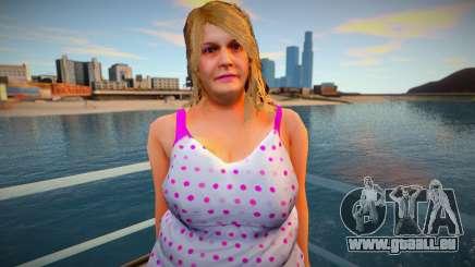 New CJ Girlfriends 2021 - Barbara pour GTA San Andreas