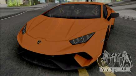 Lamborghini Huracan Performante (SA Lights) pour GTA San Andreas