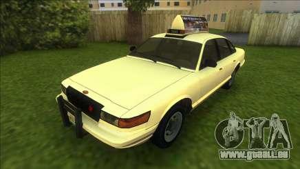 Vapid Stanier Taxi pour GTA Vice City