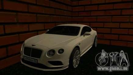Bentley Continental GT RUS Plates für GTA San Andreas