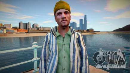 Un criminel russe en robe de prison pour GTA San Andreas