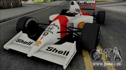 McLaren MP4-6 Ayrton Senna (Formula 1) für GTA San Andreas