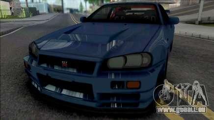 Nissan Skyline GT-R 2002 für GTA San Andreas