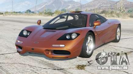 McLaren F1 1993〡add-on für GTA 5