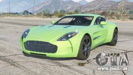 Aston Martin One-77 2010〡add-on v2.0 pour GTA 5