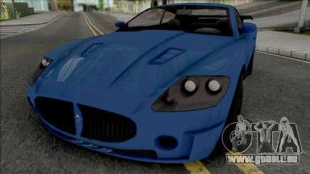 Ocelot F620 (SA Plate) pour GTA San Andreas