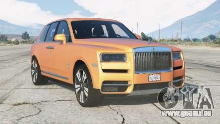 Rolls-Royce Cullinan 2018 v3.0 pour GTA 5