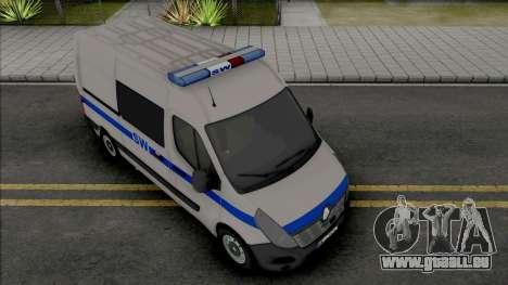Renault Master II Prison Service pour GTA San Andreas