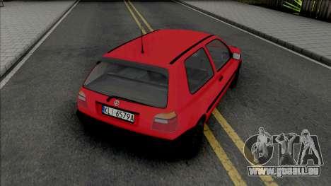 Volkswagen Golf III Slawomir für GTA San Andreas