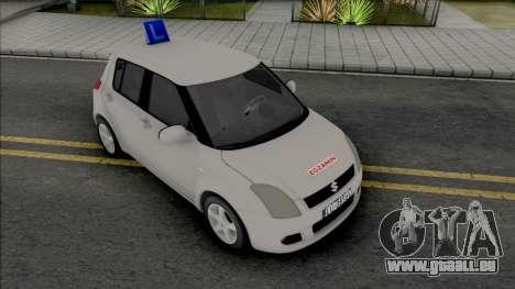 Suzuki Swift Driving School pour GTA San Andreas