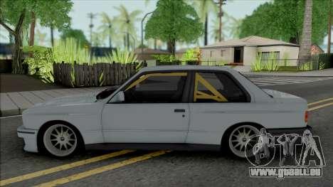 BMW M3 E30 S58 3.0 Swap pour GTA San Andreas