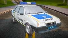 VAZ 2109 Polizei der Ukraine