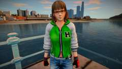 Dead Or Alive 5 - Hitomi (Costume 2) pour GTA San Andreas