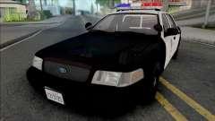 Ford Crown Victoria 2000 CVPI LAPD (Vista Light)