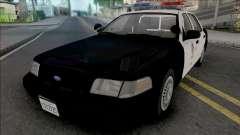 Ford Crown Victoria 1999 CVPI LAPD v2